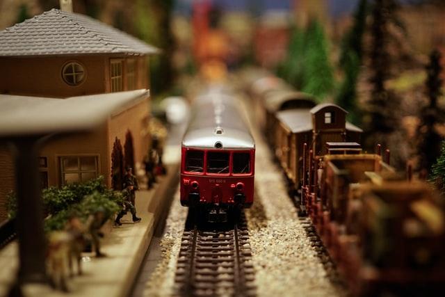 venta trenes a escala de metal al por mayor